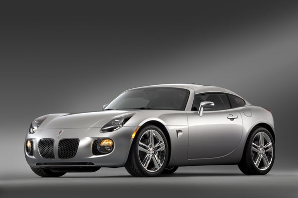 2009 Pontiac Solstice Coupe Brings Transformer Back To Life