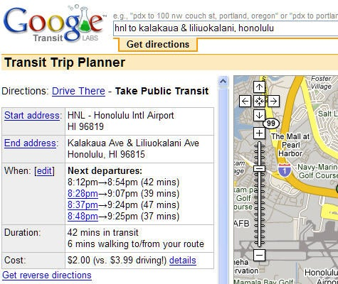 Google Transit adds Seattle, Pittsburgh and more cities