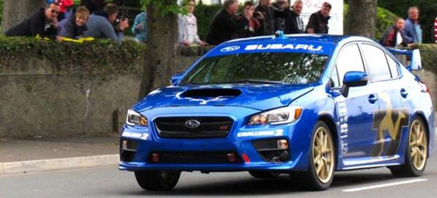 Subaru Sets New Isle Of Man Record With 116.40 MPH In A Subaru WRX STI
