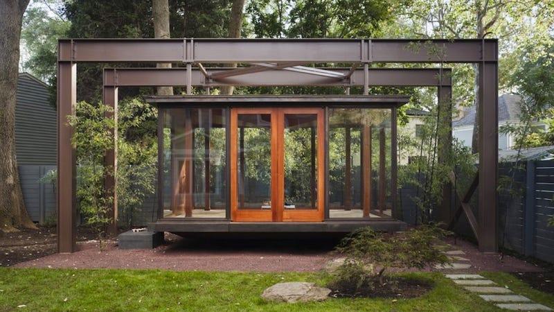 Take a Break in a Floating Tea House