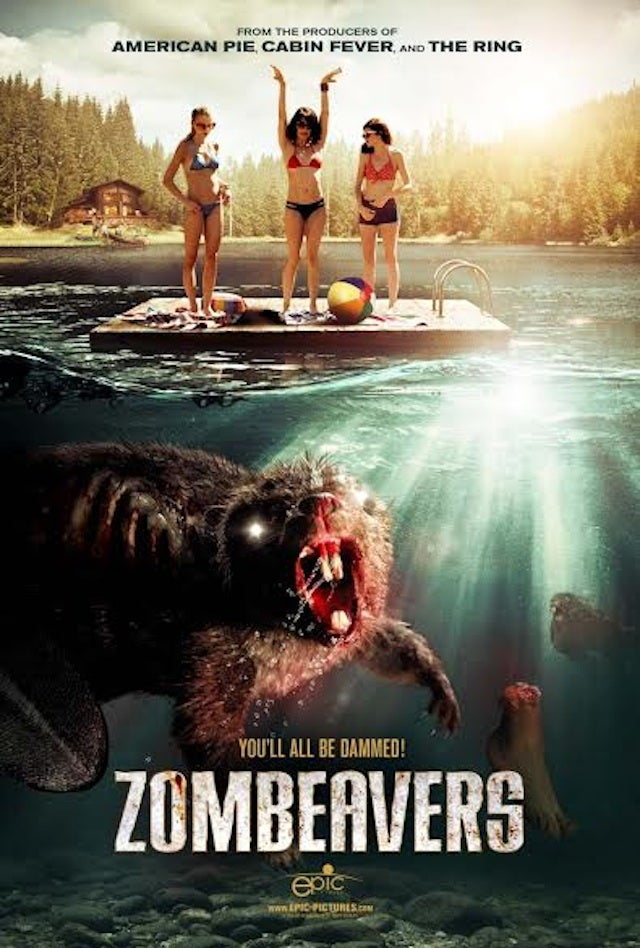 ​Zombie Beavers Star in Amazing New Film Zombeavers