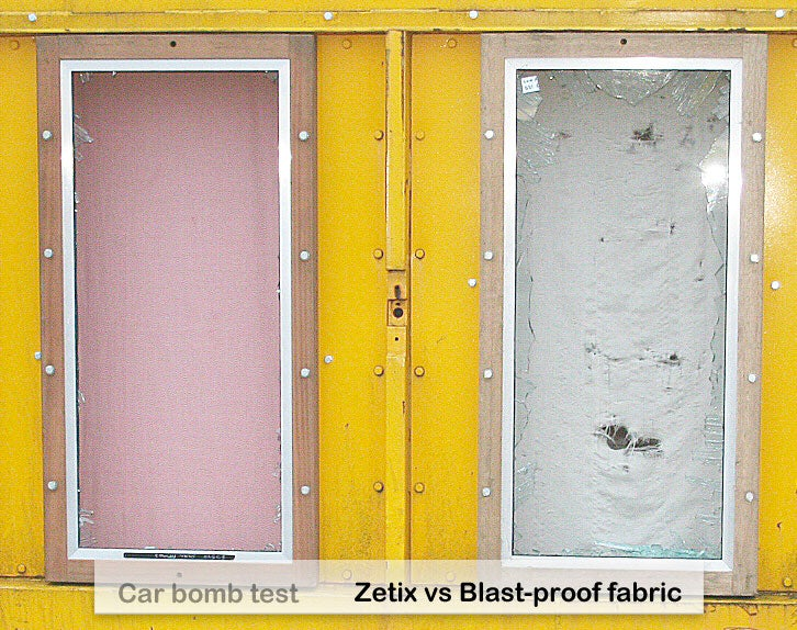 Zetix Blast-Proof Fabric Resists Multiple Car Bombs, Makes Our Heads Explode