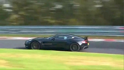 Aston Martin One-77 Takes To Nürburgring