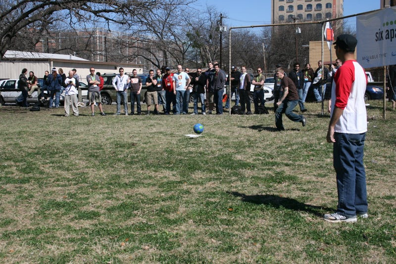 SXSW's a real kick