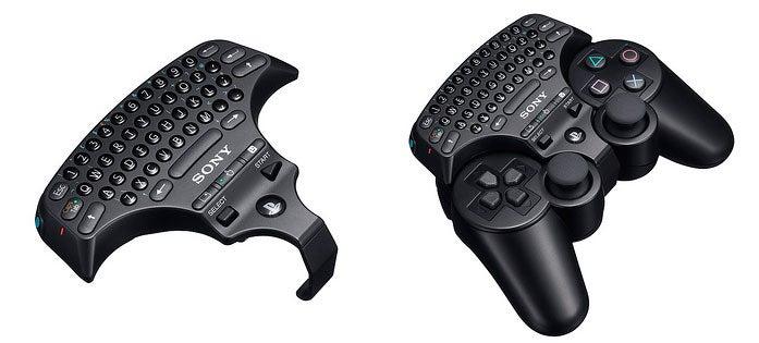 PlayStation 3 Keypad to Bring Thumb Typing to PS3