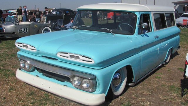COTD: Slamming your '61 Suburban edition