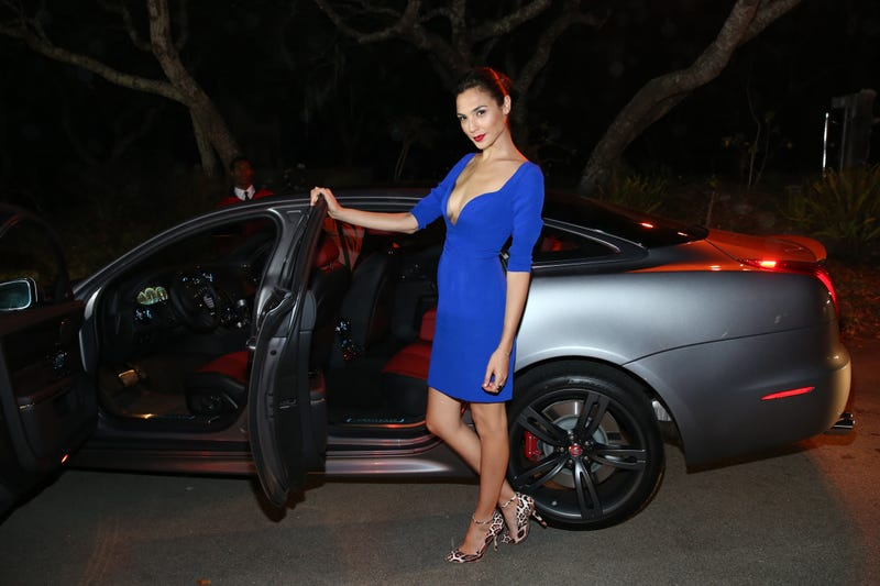 Gal Gadot And Jaguars Are The Perfect Combination