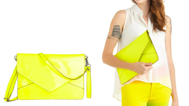 Melie Bianco's Neon iPad Clutch Is as Stylish as You Are