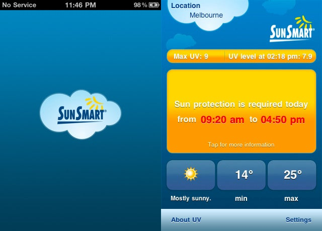 Aussies Sweating Down Under Can Avoid Skin Cancer With This Free iPhone App