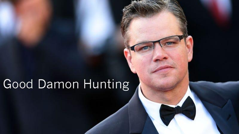 How One Girl Hunted Down Matt Damon in Morocco