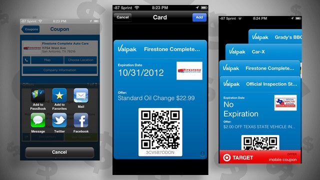 Valpak Fleshes Out Your iPhone's Passbook