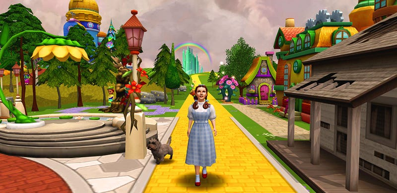 The Wizard of Oz Facebook Game Will Get You, My Pretty