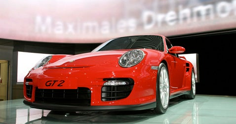 Frankfurt Auto Show: Porsche GT2 Roundup