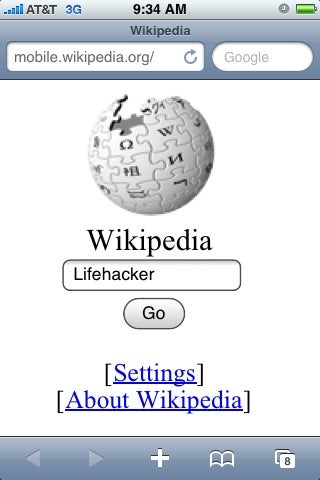 Wikipedia Officially Launches Mobile Version