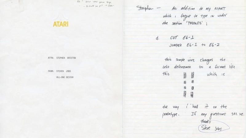 Buy a Handwritten Note by 19-Year-Old Steve Jobs