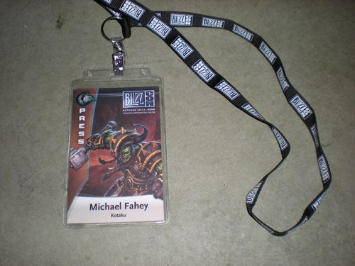 BlizzCon 2008 - The Kotaku Griffon Has Landed
