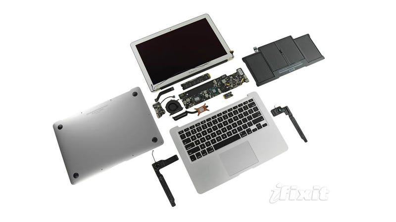 New Macbook Air Teardown Shows SSDs Not Bolted Down Just Yet