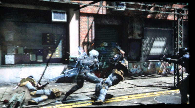 Metal Gear Solid: Rising's Single Screenshot (UPDATE: And Four Of Ours)