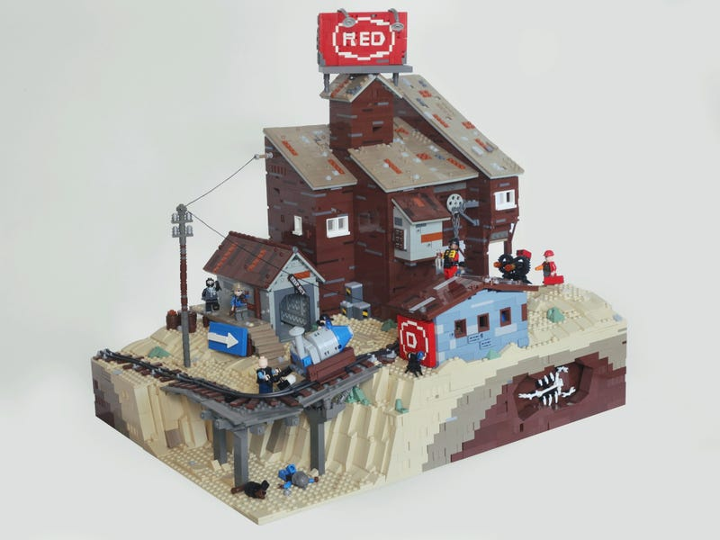 Meet The (Unofficial) Team Fortress LEGO