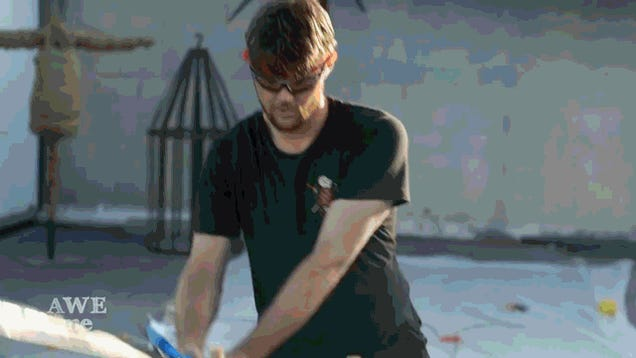 He Forged The Master Sword From Zelda. Then, He Cut Stuff With It.