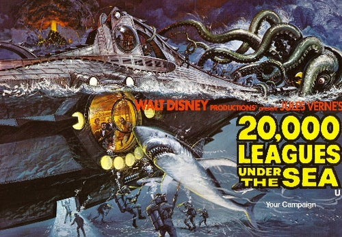 Disney Beaches Captain Nemo