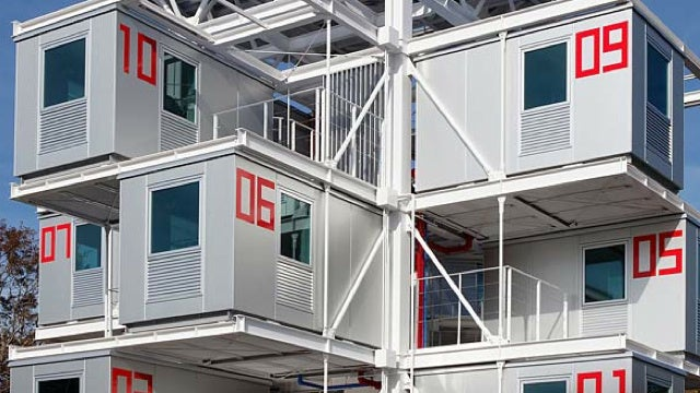Want to Live in a Large Aluminum Box? In Japan, You Can.