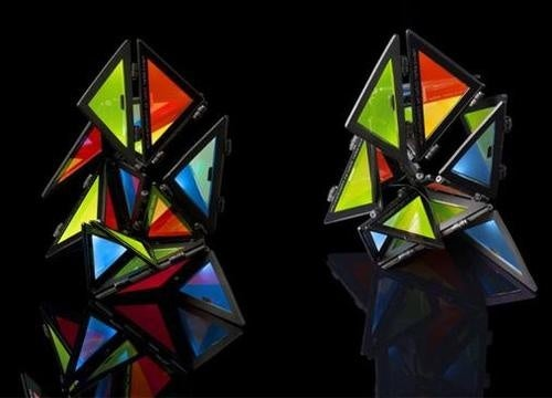 Origami Yourself A Colorful OLED Light