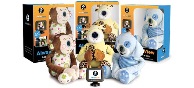A Plush-Disguised Camera Lets Drivers Keep an Eye On Back-Seat Infants