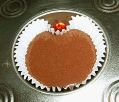 Make Heart Shaped Cupcakes, No Special Pan Required