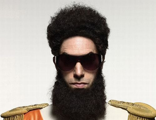 "Sacha Baron Cohen will drive an all-gold armored truck in ""The Dictator"""