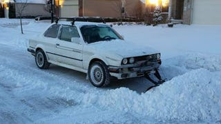 Now You Can Buy A BMW E30 Snow Plow