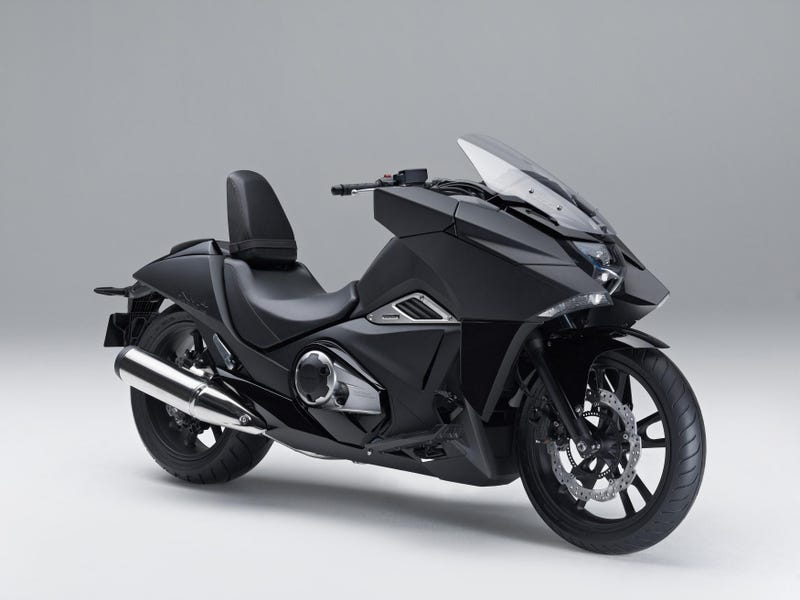 Honda's Anime-Inspired Bike Is A Stealth Bomber On Two Wheels