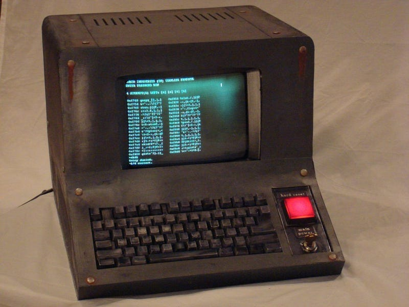 This Man Built a Working Computer From Fallout. It's Pretty Damn Great.