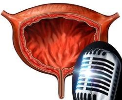 A River Runs Through It: Bladder Microphone Hears Your Prostate