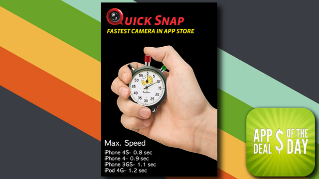 Daily App Deals: Get Quick Snap for iOS for Free in Today's App Deals