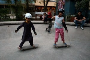 Equality Through Skateboarding: Afghan Girls Skate With Skateistan