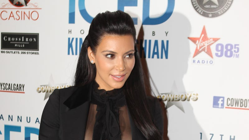 Good Job, Society—Kim Kardashian Now Feels the Need to Specify She Won't Be Allowing TV Cameras in Her Birth Canal