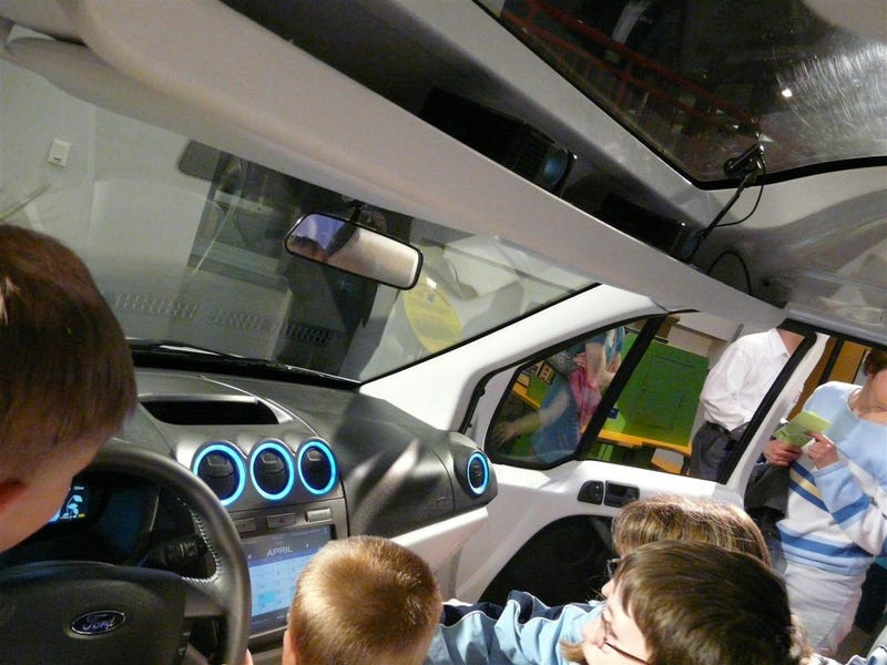 Ford Transit Connect Family One Concept: You Know... For Kids!