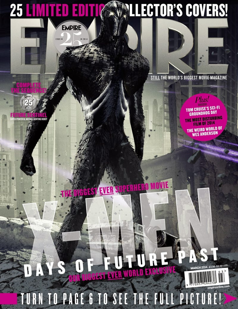 Meet X-Men: Days of Future Past's Sentinel of the Future