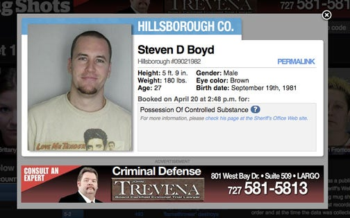 Looking Through Mugshots Has Never Been This Slick or Easy