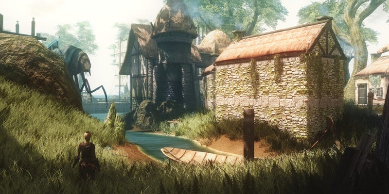 High-Res Skywind Looks Like The Morrowind Mod Of My Dreams