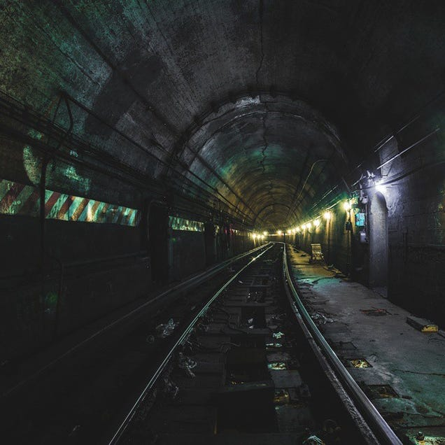 The Amazing Photos Taken By a Crazy Subway Tunnel Spelunker