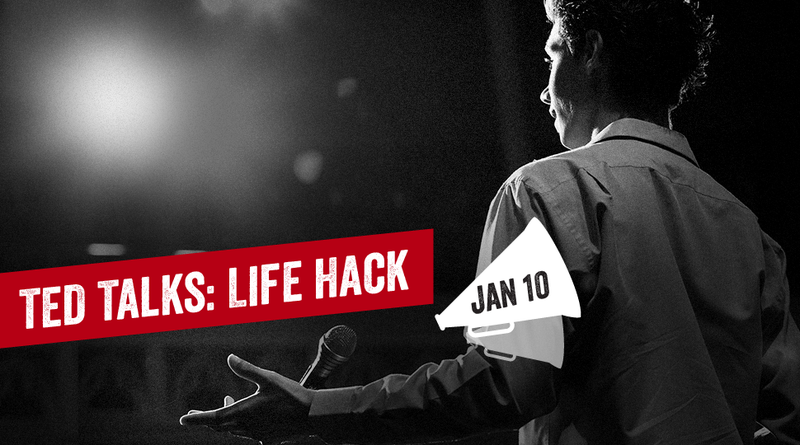 Watch TEDTalks: Life Hack and Be More Productive in 2014
