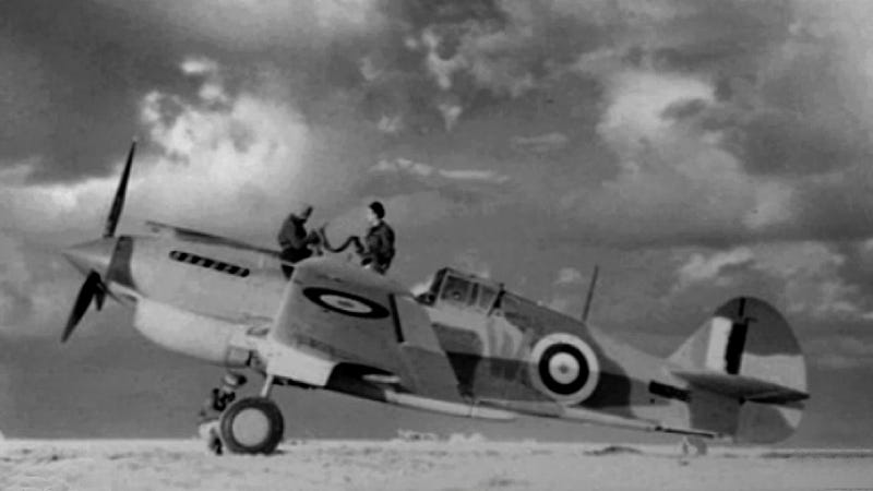 This WWII Fighter Plane Spent 70 Years In The Sahara Desert