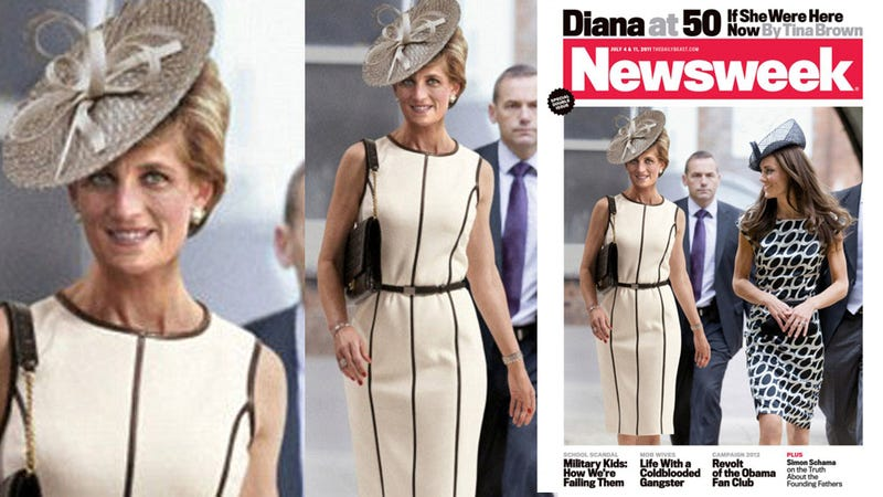 Undead Princess Diana Strolls With Kate Middleton On Ridiculous Newsweek Cover