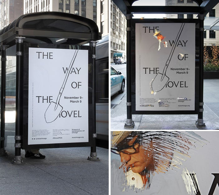 Scratch-Off Bus Stop Ads Reveal Hidden Art