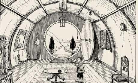 Tolkien's Hobbit Illustrations