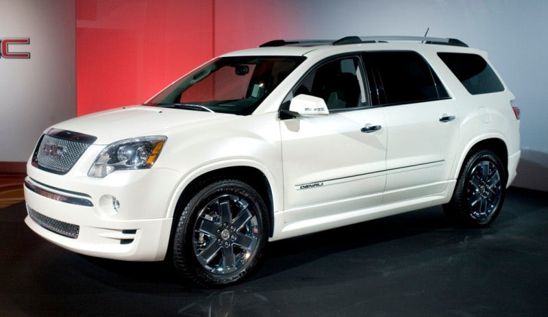 2011 GMC Acadia Denali: How The Hell Do You Spend $40K On A GMC Crossover?