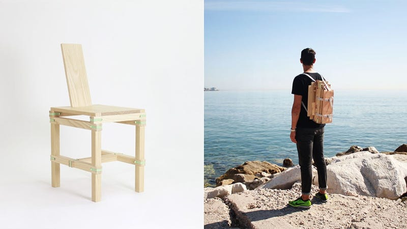 This Chair Can Be Worn Like a Backpack