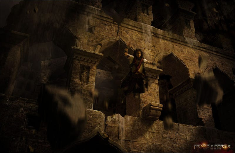 The Sandy, Chest-Free Art of the Prince of Persia Movie